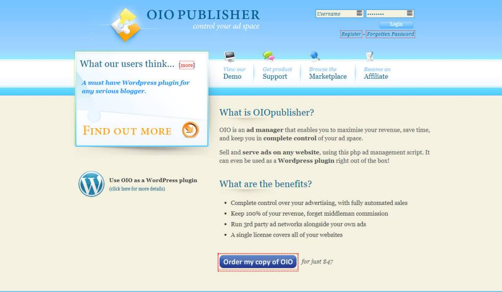 Plugins: OIO Publisher