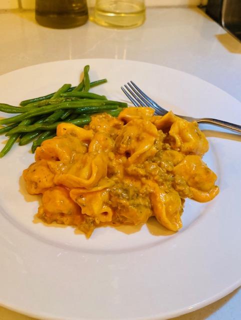 Tomato Basil Tortellini Recipe