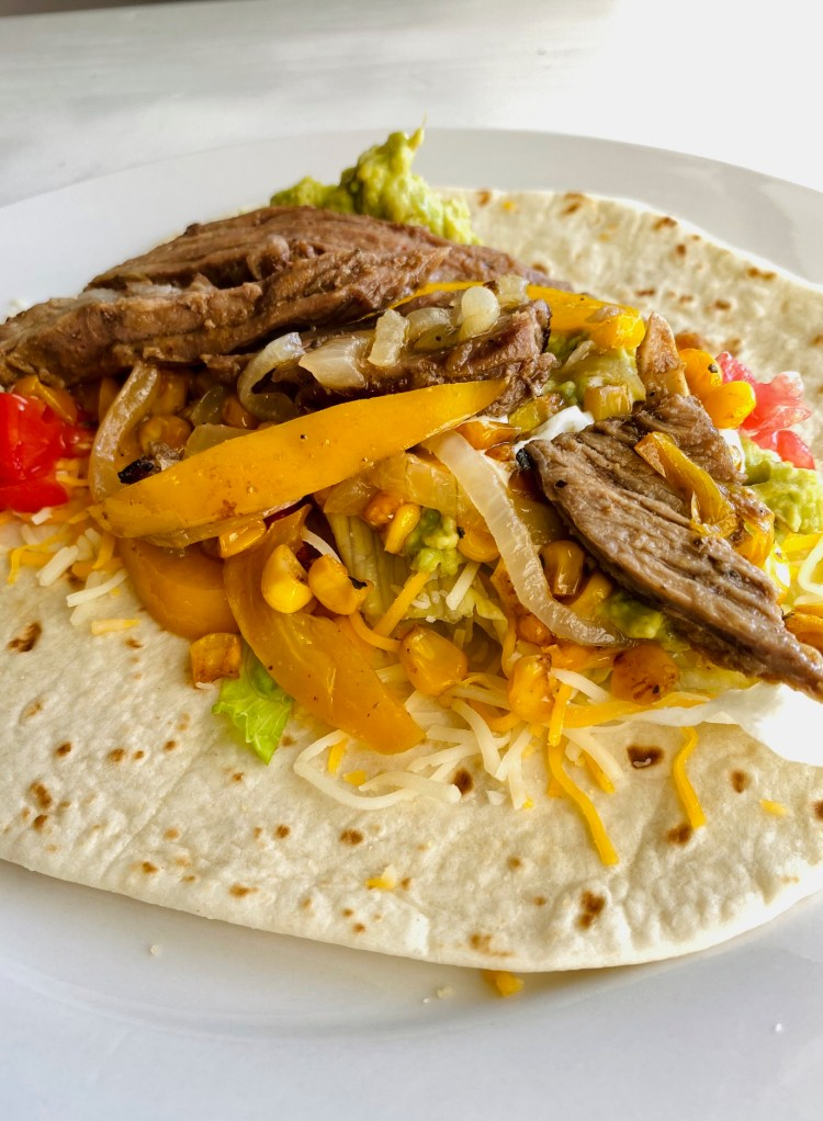 Margarita Steak Fajita Recipe