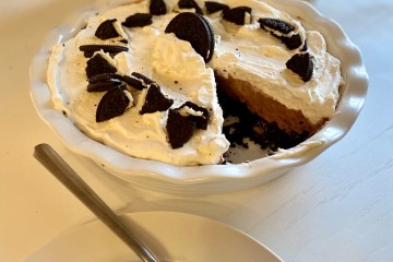 Oreo Cookie Chocolate Mousse Pie Recipe