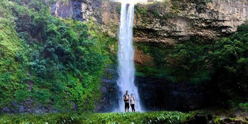 Image result for Chamarel Waterfalls