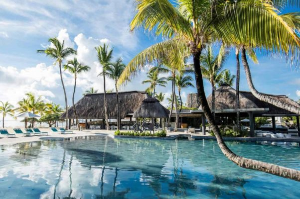 Long Beach Mauritius Swimming Pool