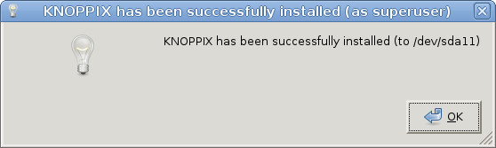 Knoppix 7.2 end