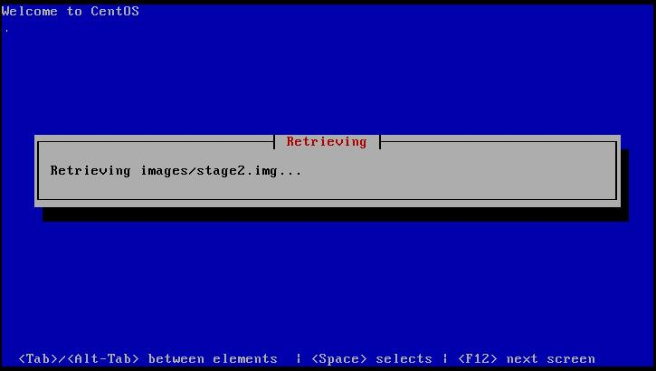 Centos 5.9 Retriving