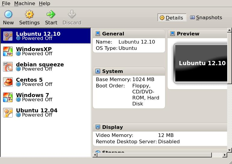 virtualbox main