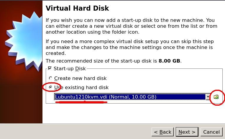 virtualbox  virtual hard disk