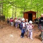 A scuola di avventura. Il parco avventura in rapporto agli studenti