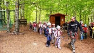 scuole parchi avventura gite scolastiche