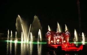 Fontane danzanti Illusion Rainbow Magicland