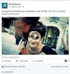 Mirabilandia viral marketing WOM