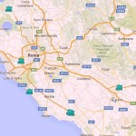 La mappa dei parchi acquatici nel Lazio. Un elenco di parchi divertimento per l'Estate