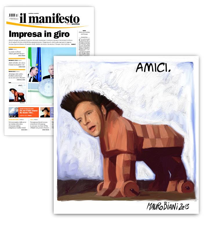 renzi-cavallo-AMICI-il-manifesto