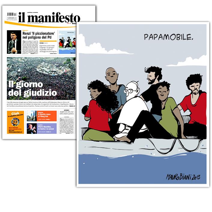 papa-migrante-il-manifesto