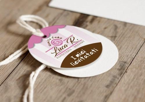 Vanilla Cake - Etichetta Dolci
