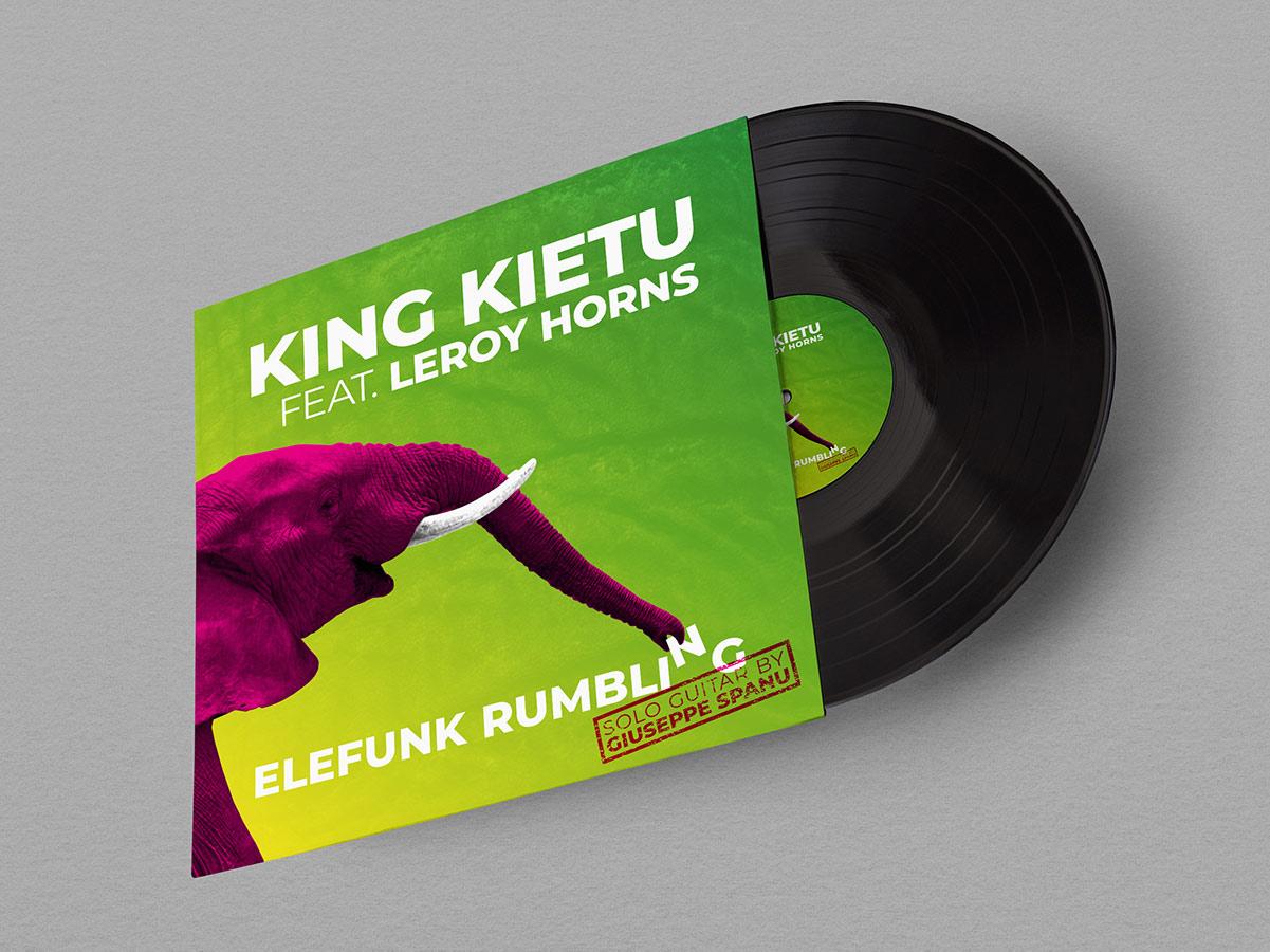 King Kietu - Copertina Elefunk Rumbling (anteprima)