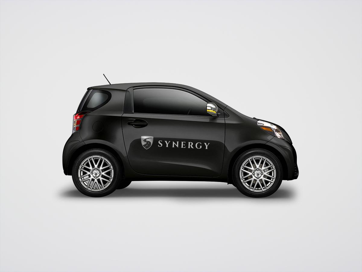 Synergy - Logo su auto
