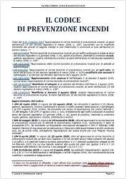 Il codice di prevenzione incendi - Ing. Mauro Malizia