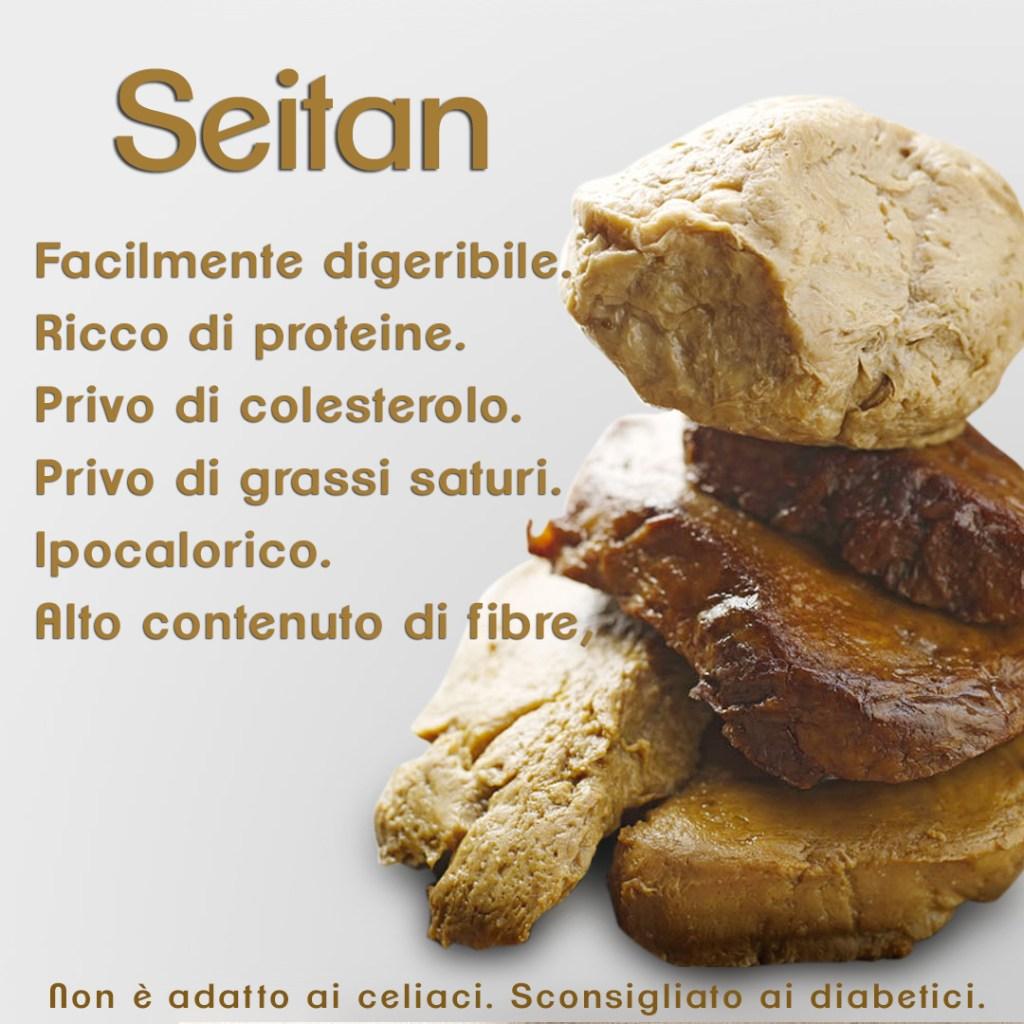 proprietà del seitan