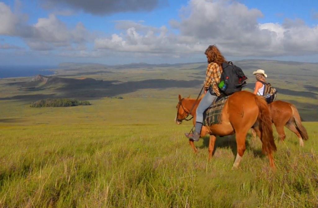 Horses on Poike