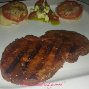 Dampfendes Steak - Grillen