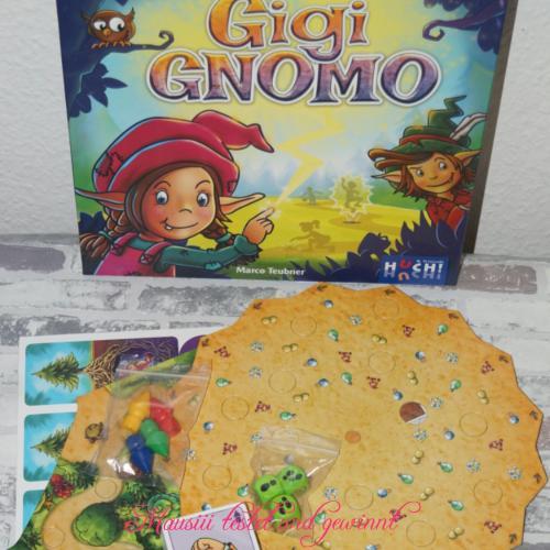 Gigi Gnomo ausgepackt