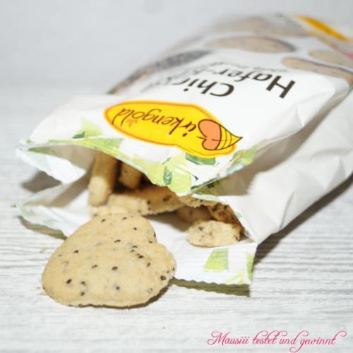 Birkengold Chia-Hafer-Kekse