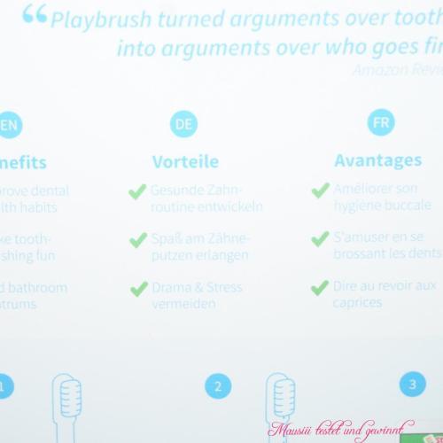 Vorteile Playbrush