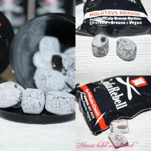 Verschiedene ColaRebell-Bonbons