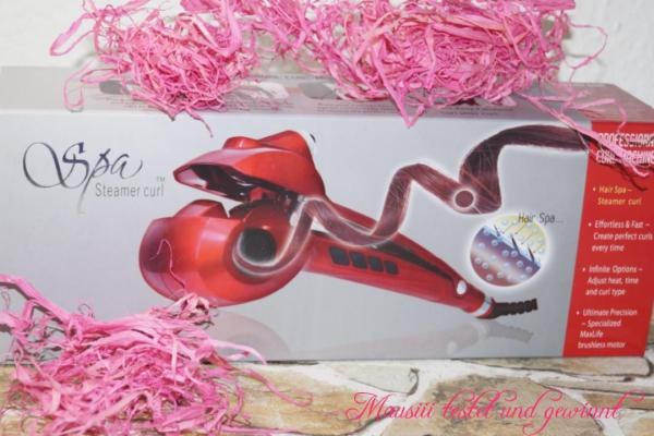 Arino Spa Steamer Curl