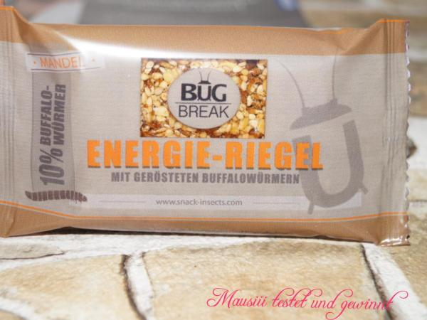 Energie-Riegel von Snack Insects