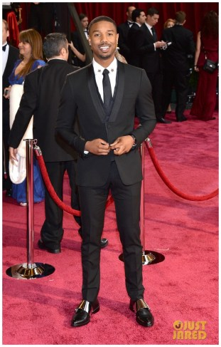 Michael B. Jordan in Givenchy suit &Piaget eatch