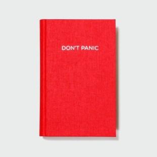 "Agenda ""DON`T PANIC"", Fabrik   19 euro"