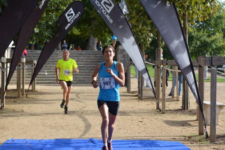 Urban Trail de Blois => Victoire d'Isa sur le 13 km ! Une de plus