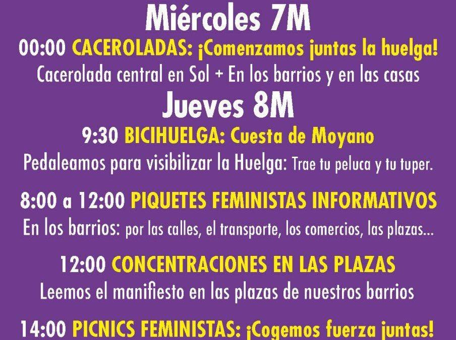 Agenda #hacialahuelgafeminista