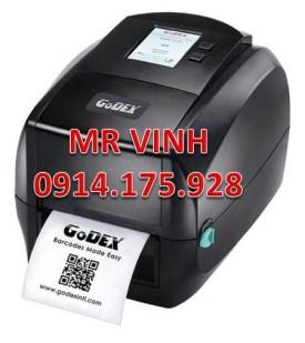 Máy In Mã Vạch Godex RT700 203 DPI