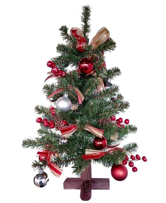 a timeless christmas collection mini christmas tree 18 inches - Mini Christmas Trees