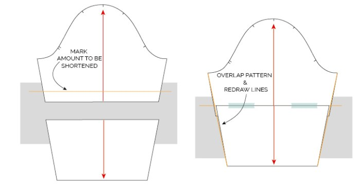 HOW TO LENGTHEN OR SHORTEN A SEWING PATTERN TUTORIAL_MAVEN PATTERNS-03