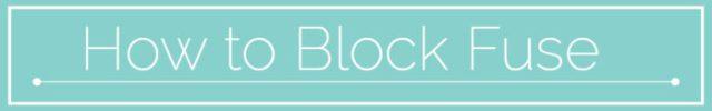 BLOCK FUSING TUTORIAL_MAVEN PATTERNS