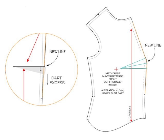 LOWER BUST DART TUTORIAL-01