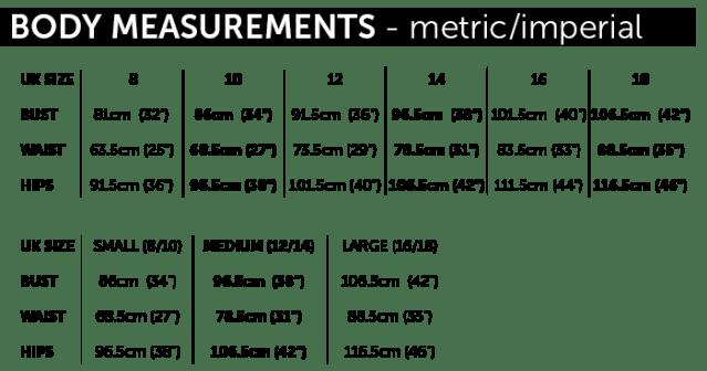 MAVEN PATTERNS_body size chart