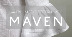 FRILL SLEEVE PATTERN HACK_MAVEN PATTERNS