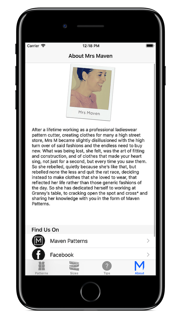 The Maven App! - Maven Patterns