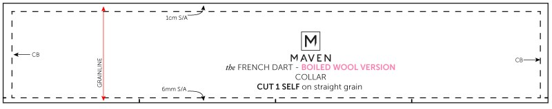 MAVEN PATTERNS_FRENCH DART SHIFT_BOILED WOOL