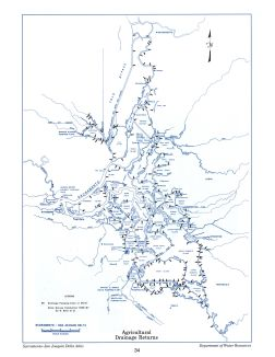 Agricultural Drainage Returns, from the Delta Atlas, 1995