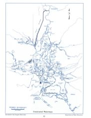 Constructed Waterways in the Delta, from the Delta Atlas, 1995