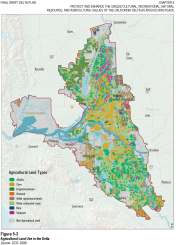Agricultural Land Use in the Delta