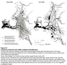 Historical and Modern Delta, from the Delta Plan