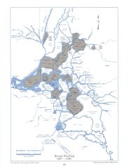 Historical Flooding, 1967 to 1992