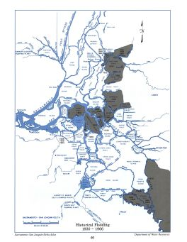 Historical Flooding, 1930 to 1966