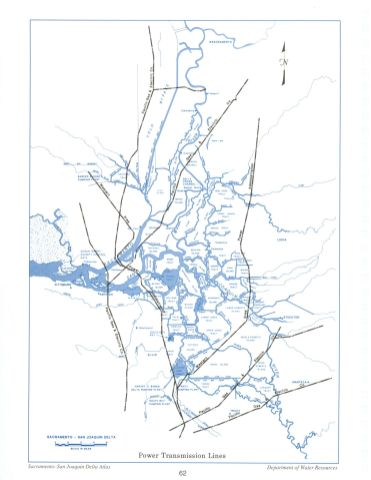 Power Transmission Lines, from the Delta Atlas, 1995